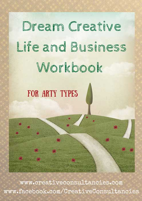 Get on the road to your dream creative life and business with this free printable workbook.